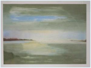 Lorenz , Peter KS 484 1939 Breslau -StudFH Bi Innenarchi GHS Pb Kunsterz.- Rüthen-Hoinkhausen Meerstück Grafik, Aquarell 43,5x61,5 60x80 Meerstück, Landschaft