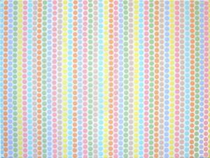 Merschmann , Ralph KS 555 1963 Lippstadt - StudAkad Münster- Köln ohne Titel Malerei, Acryl/Acryllack auf Leinwand/Keilrahmen 17.10.2003 30x40 0x0 Abstraktion, farbiges Punktornament in serieller Reihung A
