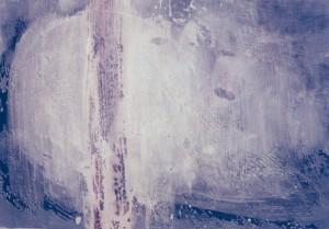 KS 337 Werner Schlegel 1953 Greiz, LP-Dedinghausen, Salzkotten-Niederntudorf o.T. Malerei 1993 34,8x49,5 50x70 essentiell, Darst. 34,8x49,5cm A
