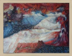 Höings , Friedrich KS 520 1908 Lippstadt 1978 Abstraktion II Malerei, Öl auf Hartfaser um 1960 0x0 86x66 Abstraktion,